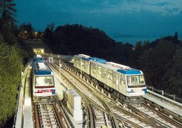 2008 HELVETIA SUISSE ENTIER POSTAL - METRO M2 LAUSANNE OUCHY-EPALINGES - Trenes