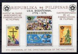 PHILIPPINES     Timbres Neufs * * De  1976     ( Ref 6026 ) Surchargé Bicentenaire Des Etats Unis - Philippines
