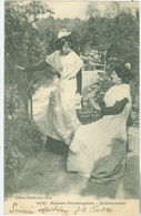 Arles 1905; Scènes Provençales. Arlésiennes - Voyagé. (Giletta - Nice) - Arles