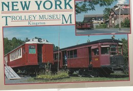 The Trolley Museum Of New York, East Strand, Kingston, New York - NY - New York