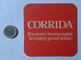 POSAVASOS COASTER MAT O SIMIL WINES WINE VINO VIN WEIN CORRIDA PUBLICIDAD ADVERTISING DRINK VER FOTO UNITED KINGDOM UK ? - Portavasos
