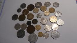 Lots De Plusieurs Monnaies Françaises Et Etrangeres - Monnaies