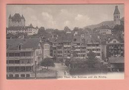 OUDE POSTKAART ZWITSERLAND - SCHWEIZ -     THUN - BE Berne