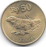 *indonesia 50 Rupiah 1996  Km 52  Unc - Indonésie