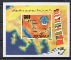 YOUGOSLAVIE    Timbre Neuf  **  De 1988    ( Ref 6028 ) Danube - Blocs-feuillets