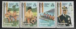 SALOMON - 1981 - N°435/8 ** - Salomoninseln (Salomonen 1978-...)