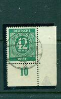 Bizone,  Ziffernserie, Nr. 930 Eckrand Gestempelt - Gemeinschaftsausgaben