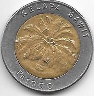 *indonesia 1000 Rupiah 1994  Km 56  XF+ - Indonesia