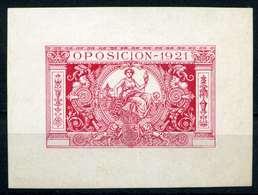 ESPAÑA. OPOSICIÓN 1921. SIN DENTAR - Fiscales