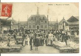 28 - BROU / MARCHE A LA VOLAILLE (PLAN RARE) - France