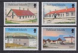 Falkland Islands 1987 Local Hospitals 4v ** Mnh (41727) - Falklandeilanden