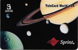 USA: Sprint - TeleCard World '94 Exposition New York. JUMBO Card - United States