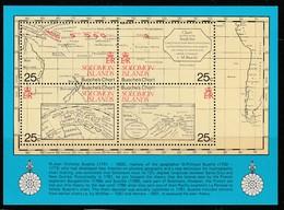 SALOMON - 1981 - BLOC N° 8  ** Carte Marine - Salomoninseln (Salomonen 1978-...)