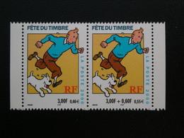 3303-3304   Tintin En Paire  NEUF**  2000 - Nuovi