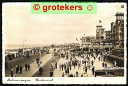 SCHEVENINGEN Boulevard Lekker Druk 1939  Mooi Machinestempel - Scheveningen
