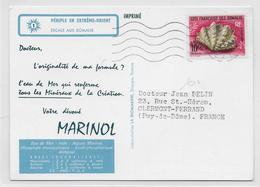 SOMALIS - 1964 - CARTE MEDICALE De DJIBOUTI => FRANCE - Lettres & Documents