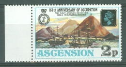 Ascension: 1975   160th Anniv Of Occupation   SG195w   2p   [Wmk Crown To Right Of CA]   MNH - Ascension