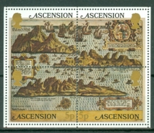 Ascension: 1981   Early Maps Of Ascension   M/S   MNH - Ascension