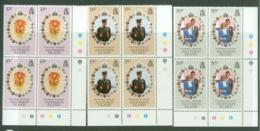 Ascension: 1981   Royal Wedding   MNH Blocks Of 4 - Ascension