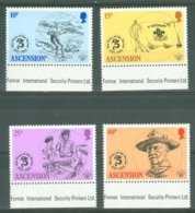 Ascension: 1982   75th Anniv Of Boy Scout Movement    MNH - Ascension