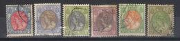 PAYS - BAS    N°s 76 A, 77, 78,79, 80, 81a  (1908) - Periode 1891-1948 (Wilhelmina)