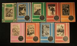 ( Enfantina ) BELLES HISTOIRES DE VAILLANCE 1940  9 Numéros LE RALLIC CUVILLIER - Livres, BD, Revues