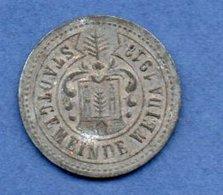 Allemagne  - Stadt Weida  -  50 Pfennig 1919  -  état  TB+ - Monétaires/De Nécessité