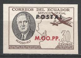 Ecuador 1949. #C (M) Roosevelt, M.OO.PP. * - Equateur
