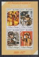 O94. Sao Tome And Principe - MNH - 2014 - Famous People - Charlie Chaplin - Célébrités