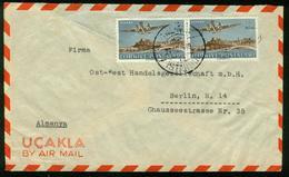 BR Türkei   1949 Lupo Brief Von Istanbul Nach DDR, Berlin - 1921-... Repubblica