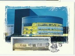 Carte Maximum NANTES - Avec Lisa 2003 - 2000-09