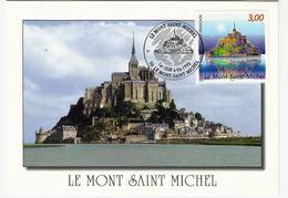 Carte Maximum MONT SAINT MICHEL - Cartoline Maximum