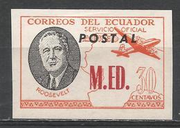 Ecuador 1949. #D (M) Roosevelt, M.ED. * - Equateur