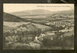 CP-MARVEJOLS (Lozère) - Quartiers Du Pont-Pessil Et Pont-de-Piou - Marvejols