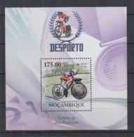 E95. Mozambique - MNH - 2010 - Sport - Cyclists - Women's Track - Bl - Francobolli