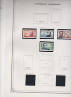 NOUVELLE CALEDONIE Sèrie Complète  4 T Neufs Xx  N°YT 280 à 283 - 1953 - Centenaire De La Présence Française - Nieuw-Caledonië
