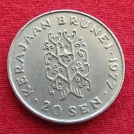 Brunei 20 Sen 1977 KM# 18 (Bolkiah)    *V2 - Brunei