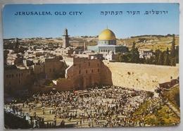 Jerusalem Old City - Temple Area, Western Wall, Dome Of The Rock (Mosque Of Omar) - Mur Des Lamentations Muro Del Pianto - Israele