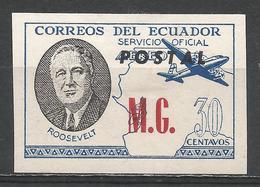 Ecuador 1949. #E (M) Roosevelt, M.G. * - Equateur
