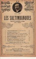 PARTITION N°55 / LES SALTIMBANQUES / OPERA COMIQUE / VALSE C EST L AMOUR / - Opern