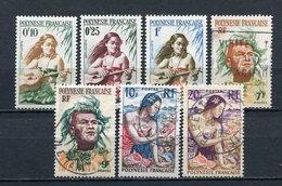 Französisch Polynesien Ex.Nr.1/9          O  Used + **  MNH        (001) - Französisch-Polynesien