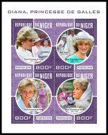 NIGER 2018 MNH** Princess Diana Mother Teresa Mutter Teresa Mere Teresa M/S - OFFICIAL ISSUE - DH1830 - Mère Teresa