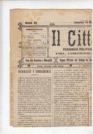 IL CITTADINO  1906 - Periodico Politico-commerciale - Altri
