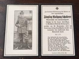 Sterbebild Wk1 Ww1 Bidprentje Avis Décès Deathcard IR32 SOMMEPY 30. September 1918 Aus Hermannsgrub - 1914-18