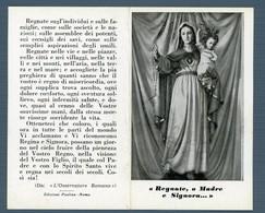 °°° Santino - Regnate O Madre E Signora °°° - Religion & Esotérisme
