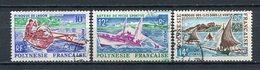 Französisch Polynesien Nr.56,58 + 59          O  Used        (016) - Französisch-Polynesien