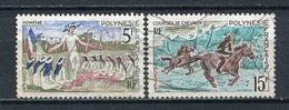 Französisch Polynesien Nr.68 + 70          O  Used        (018) - Französisch-Polynesien