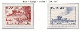 PIA - DANIMARCA  - 1977 : Europa  (Yv 640-41) - Europa-CEPT