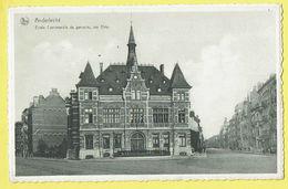 * Anderlecht (Brussel - Bruxelles) * (Nels, Ern Thill, Nr 89) Ecole Communale De Garcons, Rue Eloy, School, Rare, Old - Anderlecht