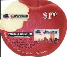 USA: Amerivox  - TeleCard World '94 Exposition New York - Stati Uniti